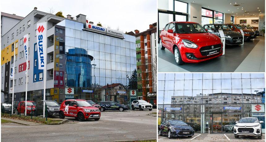AC BAUMGARTNER Suzuki salon u Varaždinu poziva na upoznavanje baznih te novih modela - 'Swace' i 'Across'