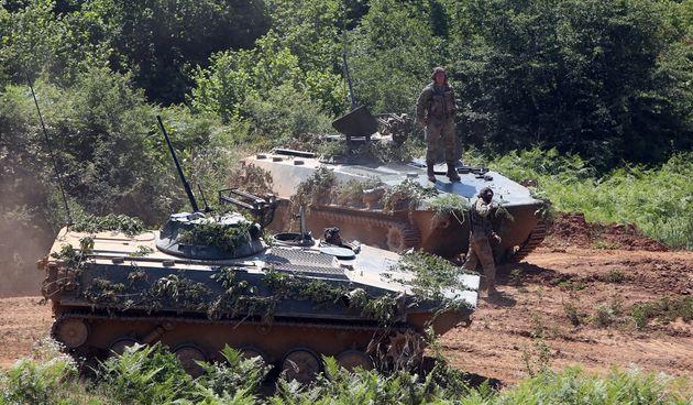 Slunj: Na vojnom poligonu Eugen Kvaternik održana vojna vježba Puma 19