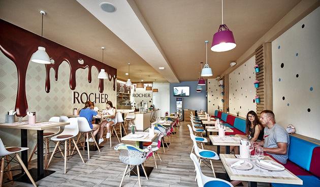 Rocher caffe