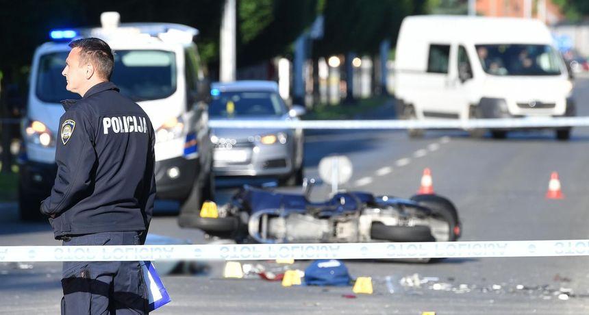 FOTO Vozačica (47) oduzela prednost prolaska, smrtno stradao vozač motocikla (50) iz Pribislavca