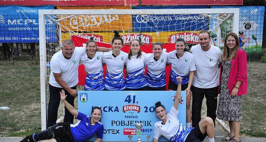 Malonogometašice karlovačkog Radnika pobjednice legendarnog turnira u Zagrebu