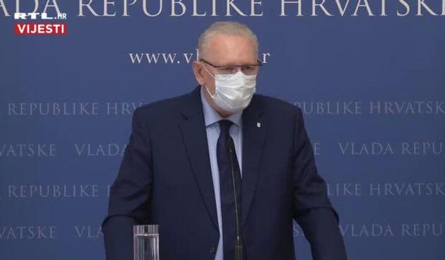 Božinović nakon sastanka Znanstvenog savjeta Vlade odgovorio na pitanja: 'Produžujemo postojeće mjere! Opcija strožih mjera nije isključena' (thumbnail)