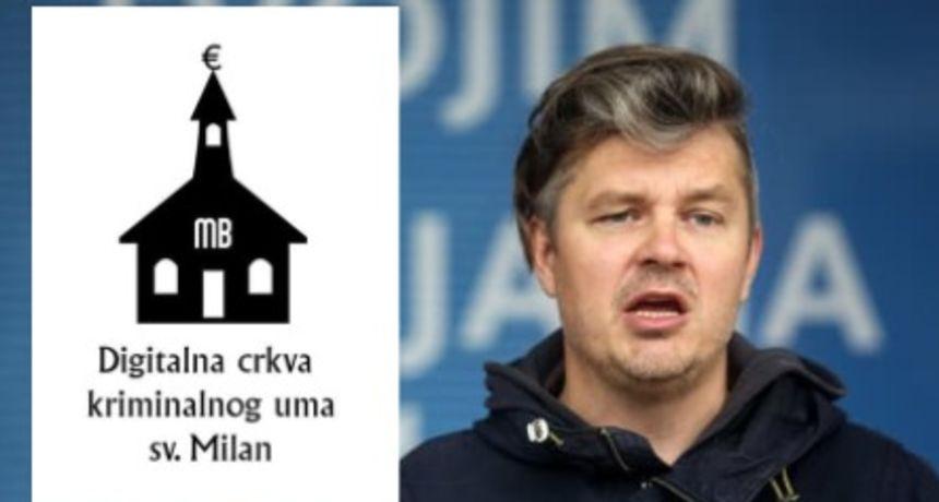 Juričan osniva crkvu kriminalnog uma Sv. Milan: 'Dragi Plenx, ovaj projekt je prioritetniji od kapelice u Betlehemu'