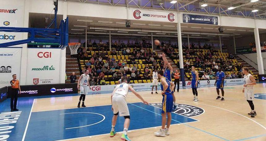 Poraz osječkih košarkaša u Češkoj