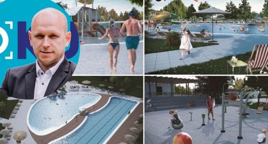 NISU OD KRUCIJALNE VAŽNOSTI Osvrt stranke Fokus na najavu izgradnje vanjskih čakovečkih bazena