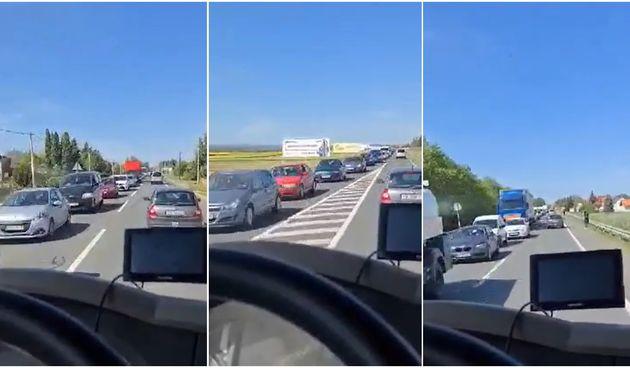 VIDEO Zbog radova na varaždinskom mostu, ogromne gužve i u Međimurju!