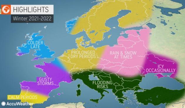 AccuWeather, zima 2021./22.