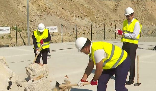 Otvaranje reciklažnog dvorišta za građevinski otpad u Splitu