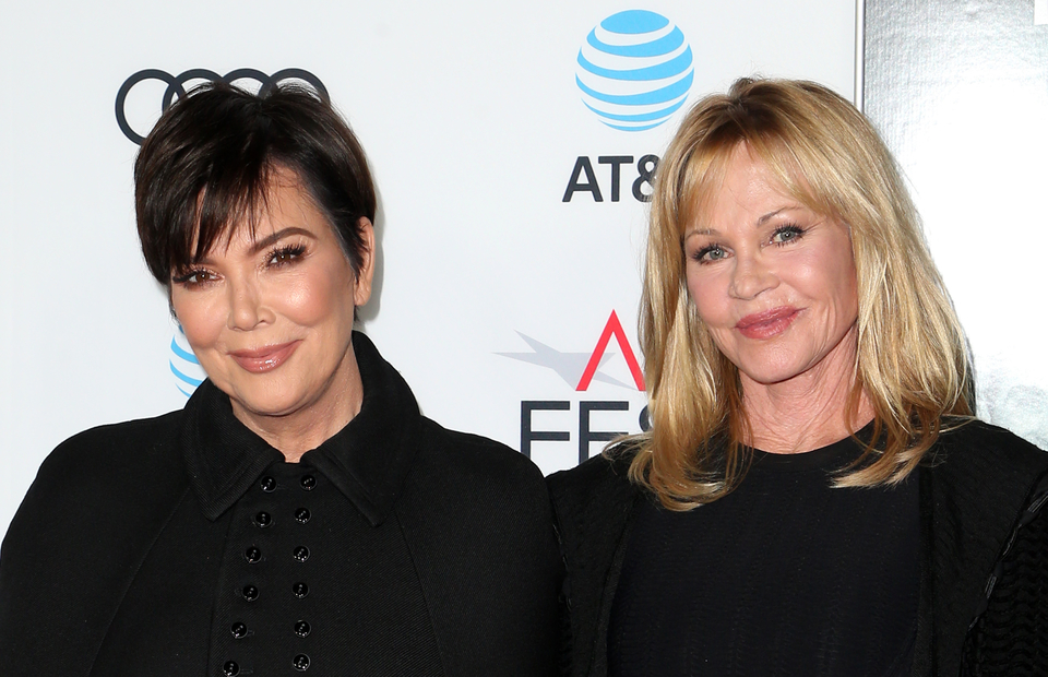 Kris Jenner i Melanie Griffith
