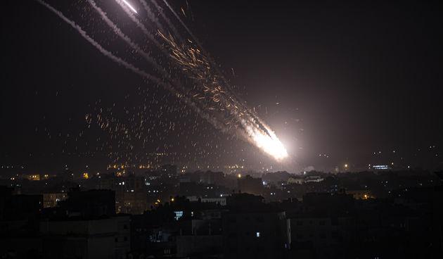 Raketni napadi pojas Gaze