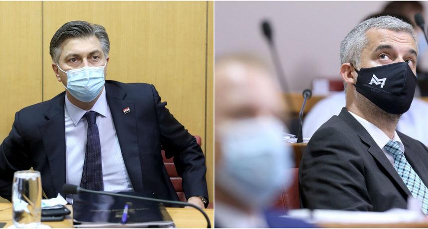 Plenković žestoko napao Raspudića: 'Godinama nas je vrijeđao kao kolumnist. Nek' sad plače. Veselim se plakanju!'