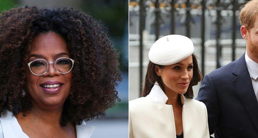 Oprah otkrila zašto ne želi biti kuma kćeri princa Harryja i Meghan