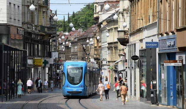 Tramvaj, Zagreb