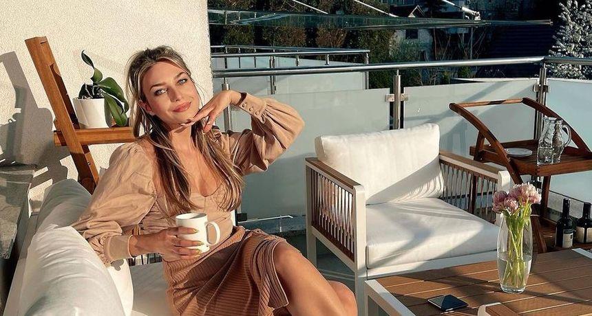 Sonja Kovač pozirala na savršeno uređenoj terasi luksuznog stana koji je nedavno kupila