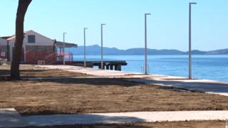 Radovi na plaži Kolovare