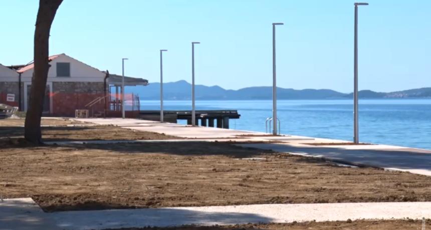 Novo ruho plaže Kolovare: Najveći radovi privedeni su kraju