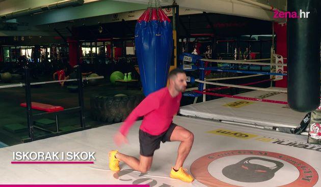 Vježbaj kod kuće s Ivanom: Visokointenzivni trening (thumbnail)