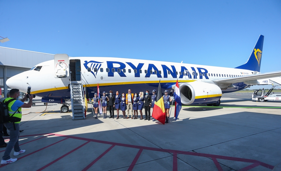 Prvi Ryanair sletio u Zagreb - iz Bruxellesa stigao u zračnu luku Franjo Tuđman