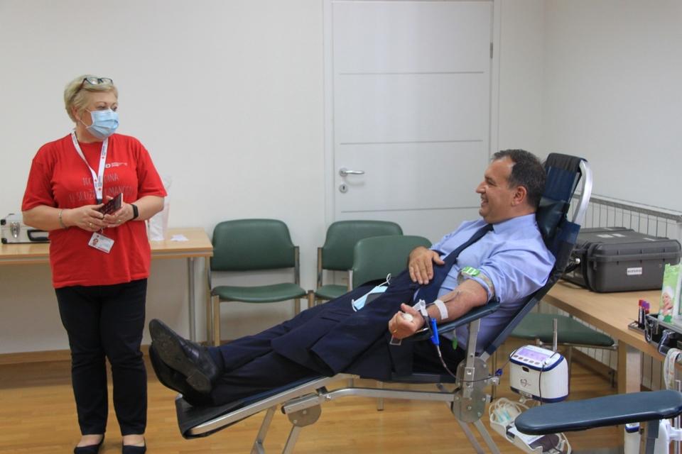 Ministarstvo zdravstva od danas postaje punkt za darivanje krvi