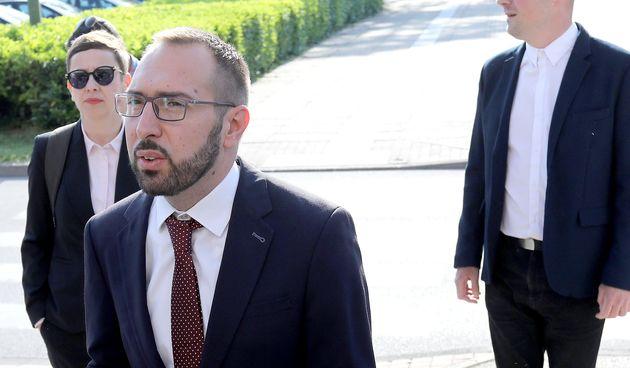 Tomislav Tomašević dolazi na preuzimanje dužnosti gradonačelnika
