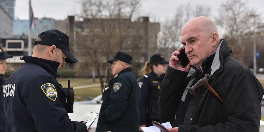 Dobio zabranu prilaska Tuđmanu pa odmah otišao tamo, dočekala ga policija: 'Ići ćete u zatvor!'