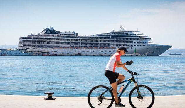 Luksuzni MSC Splendida u Splitu