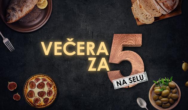 Večera za 5 na selu logo
