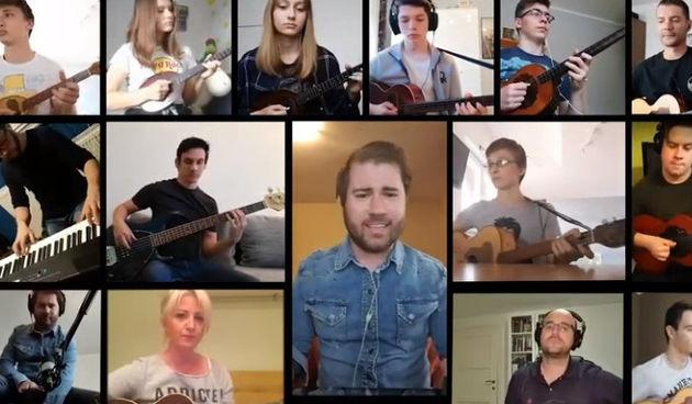 VIDEO Varaždinci obradili rock baladu na tamburaški način, poslušajte!