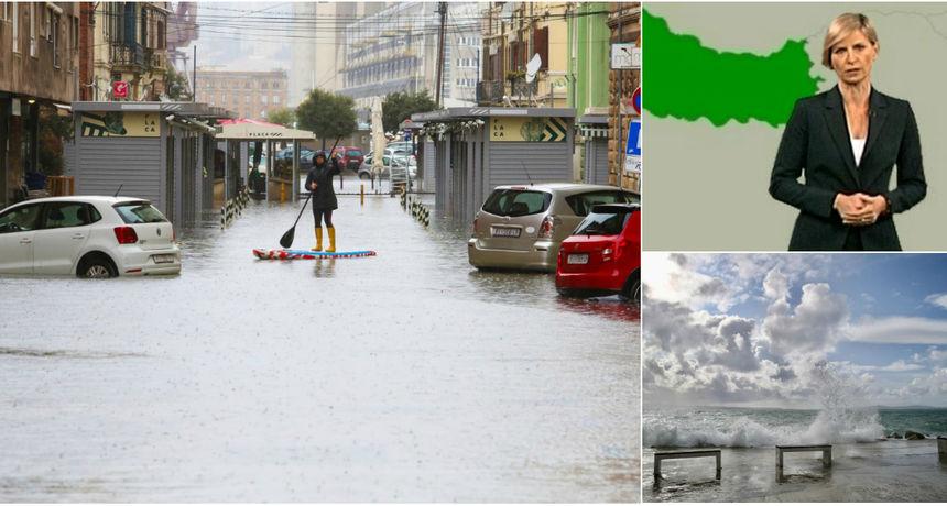 Poplave izazivaju kaos duž Jadrana! Dunja Mazzocco Drvar: 'Za ovakvo izrazito dizanje mora tri su razloga'