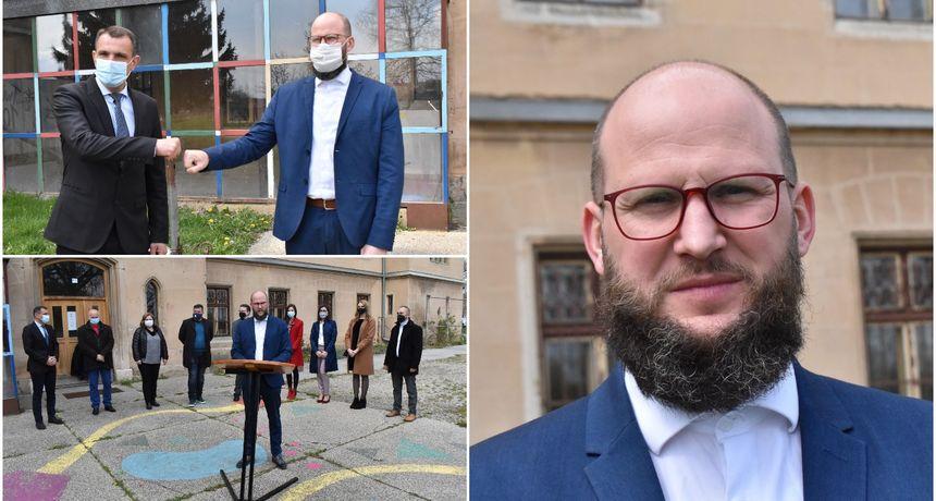 PRIBISLAVEC Matija Ladić predstavio kandidaturu za načelnika Općine Pribislavec