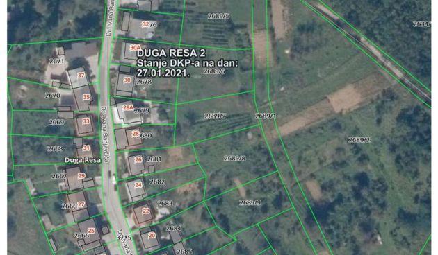 Duga Resa ispituje interes građana za građevinsko zemljište po Programu demografske obnove - parcele u Banjavčićevoj na prodaju uz 50 posto niže cijene