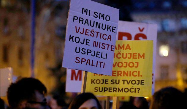 prosvjed prava žena