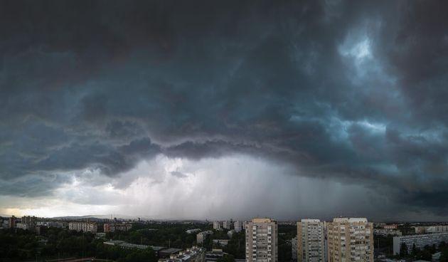 oblaci nevrijeme kiša zagreb