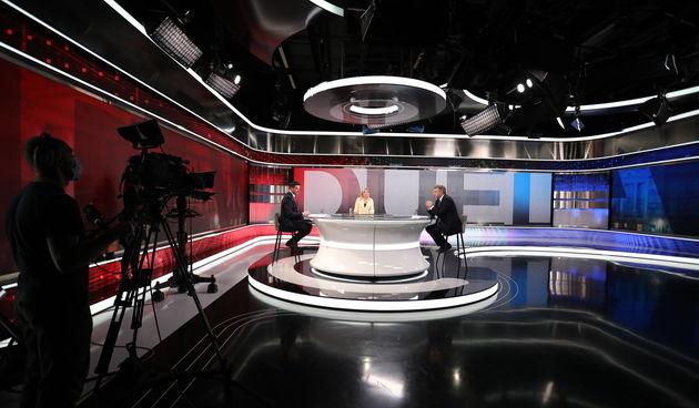 Bernardić i Plenković oči u oči u RTL-ovom studiju