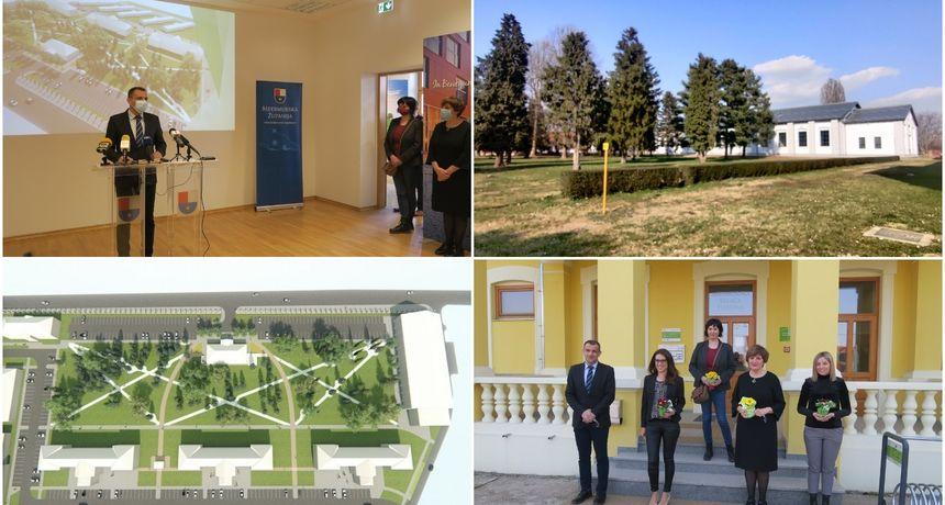 Prostor bivše vojarne dobiva prekrasan park zahvaljujući europskom projektu i sredstvima Međimurske županije