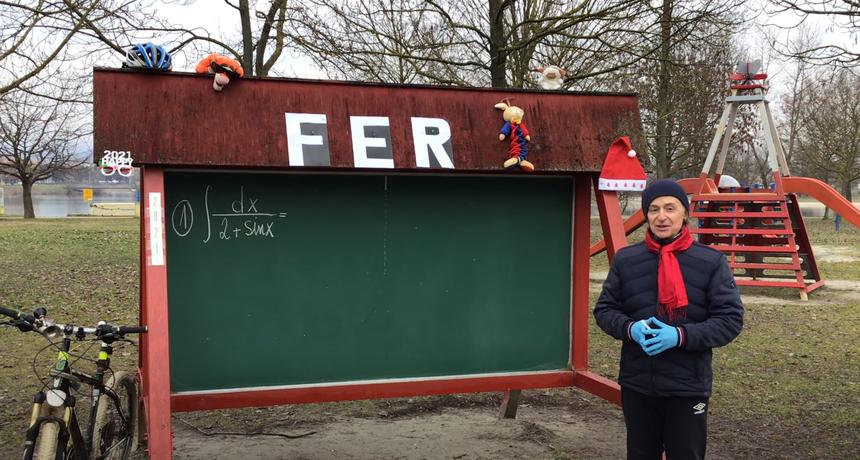 VIDEO Profesor s FER-a oduševio YouTube predavanjima i dokazao da online nastava itekako može biti kvalitetna. Predavanja snima na Jarunu i zaista su posebna