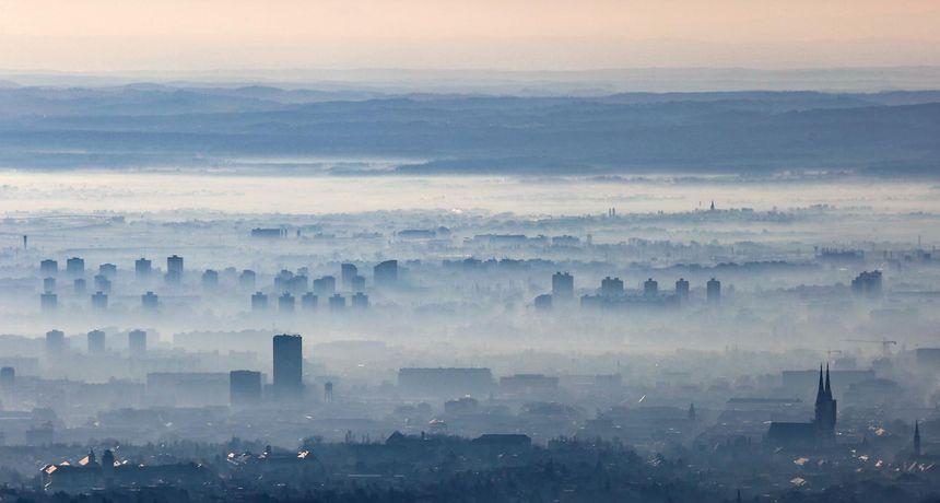 Zrak u Zagrebu ponovno loš! Izbjegavajte dugotrajne i intenzivne tjelesne aktivnosti na otvorenom