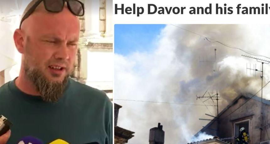 U požaru u Zadru izgubili stan pred dolazak bebe: Pomozite Davoru čija je priča rasplakala Hrvatsku