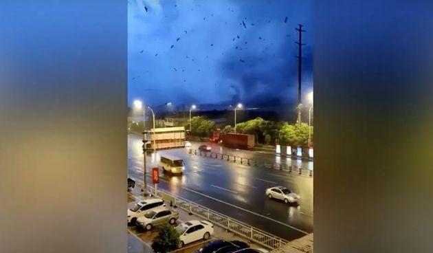 Tornado u Kini