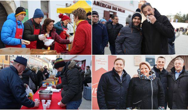 Građanima podijeljeno tisuću hot-dogova u središtu Čakovca