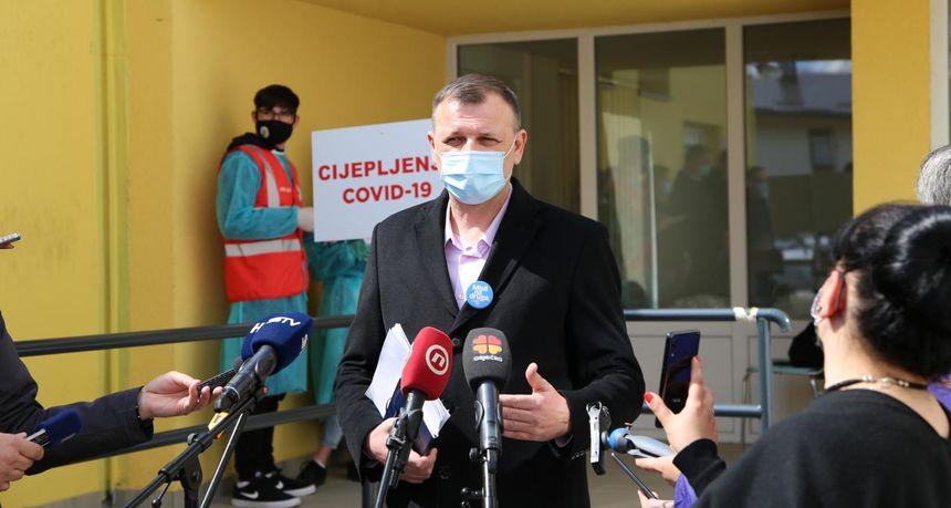 Nastavljeno masovno cijepljenje: Do nedjelje u OBŽ cijepit će se još 7200 ljudi