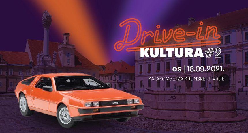 DRIVE IN KULTURA #2 - filmovi i glazba na kotačima u Osijeku