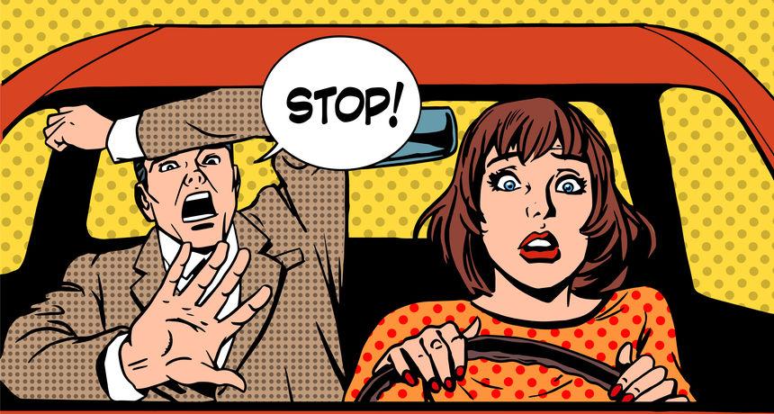 Muke od volana: 'Kako san učila vozit, 2. dio'