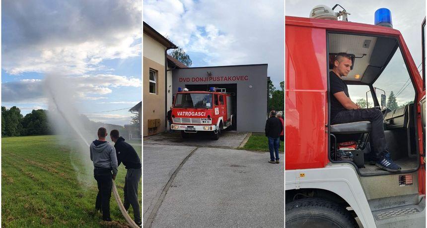 FOTO DVD Donji Pustakovec za 70. rođendan dobilo prvo navalno vozilo!