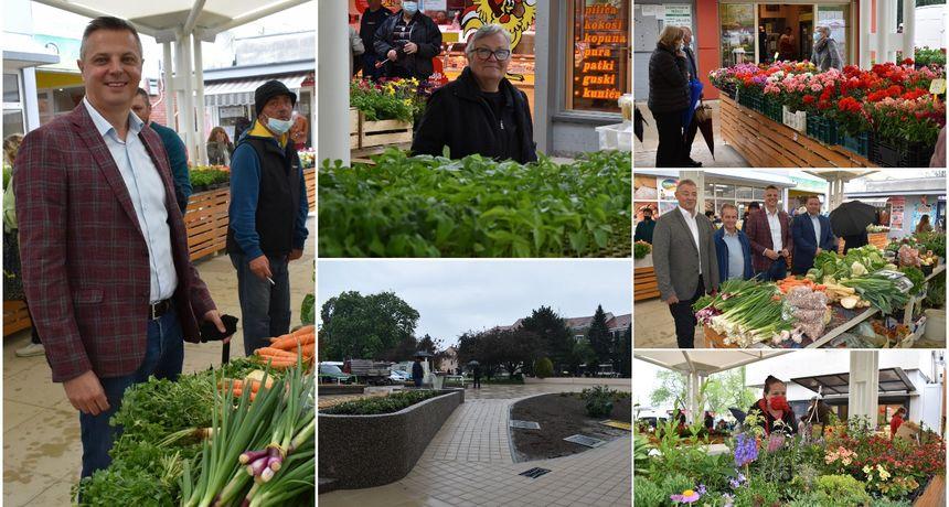 FOTO Otvorena obnovljena tržnica u Čakovcu: 'Ovo je srce grada koje počinje danas kucati'