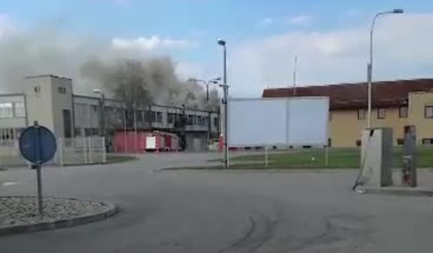 Požar prostora nekadašnjeg Vika u Varaždinu (thumbnail)