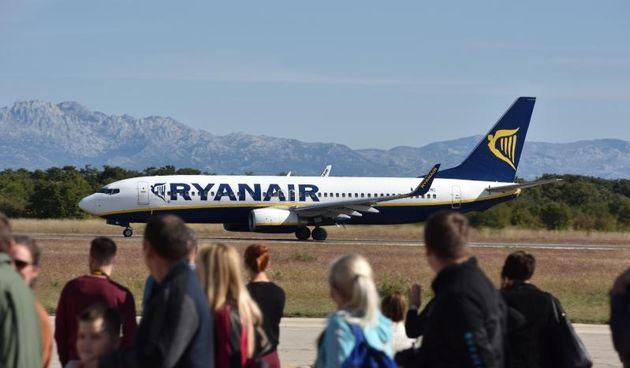Zračna luka Zadar- Ryanair