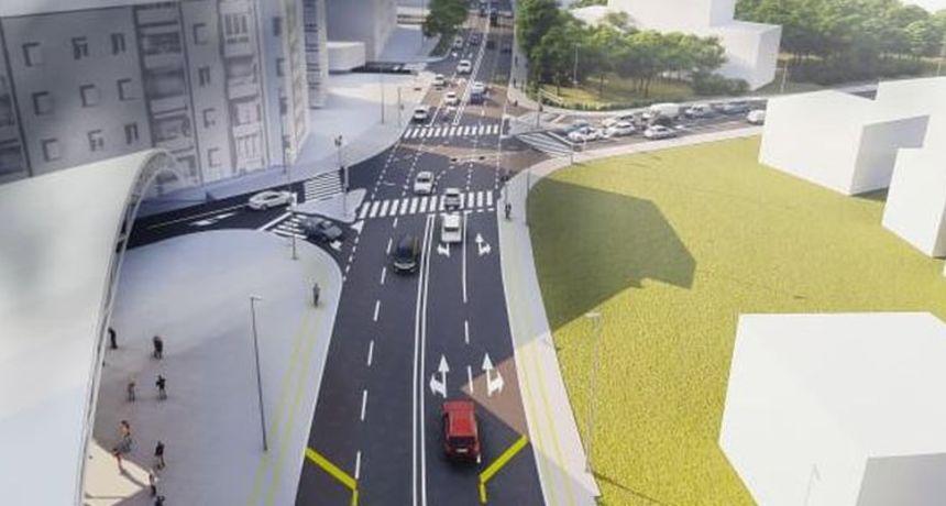 Gradonačelnik Dukić predstavio projekt rekonstrukcije Tuđmanove ulice