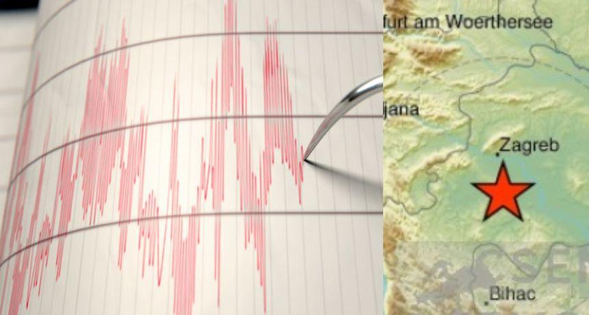 Potres u Zagrebu: Seizmografi objavili da je magnituda iznosila 1,3 prema Richteru