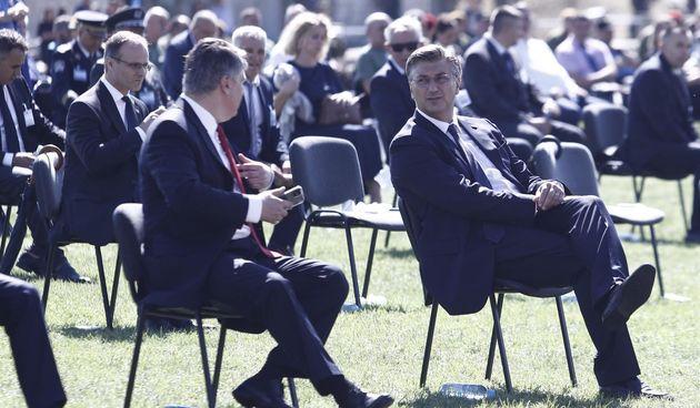 Zoran Milanović, Andrej Plenković, 5.8.2021.